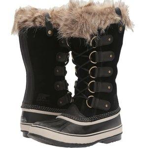 SOREL Joan of Arctic Black Waterproof Snow Boots